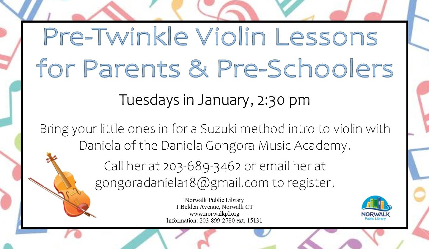 Pre-Twinkle Violin Lessons for Parents & Pre-Schoolers