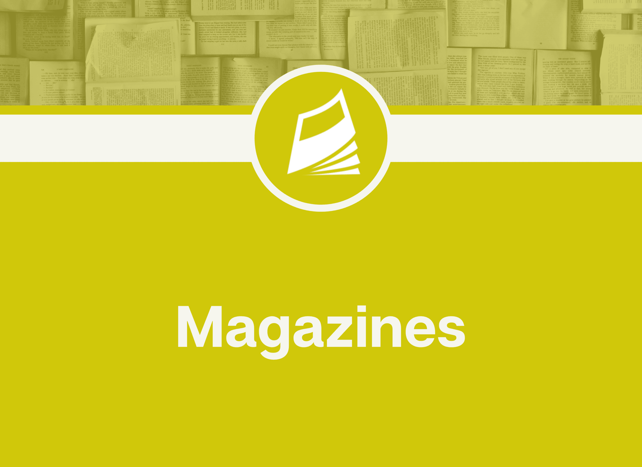 magazine digital Opens in new window