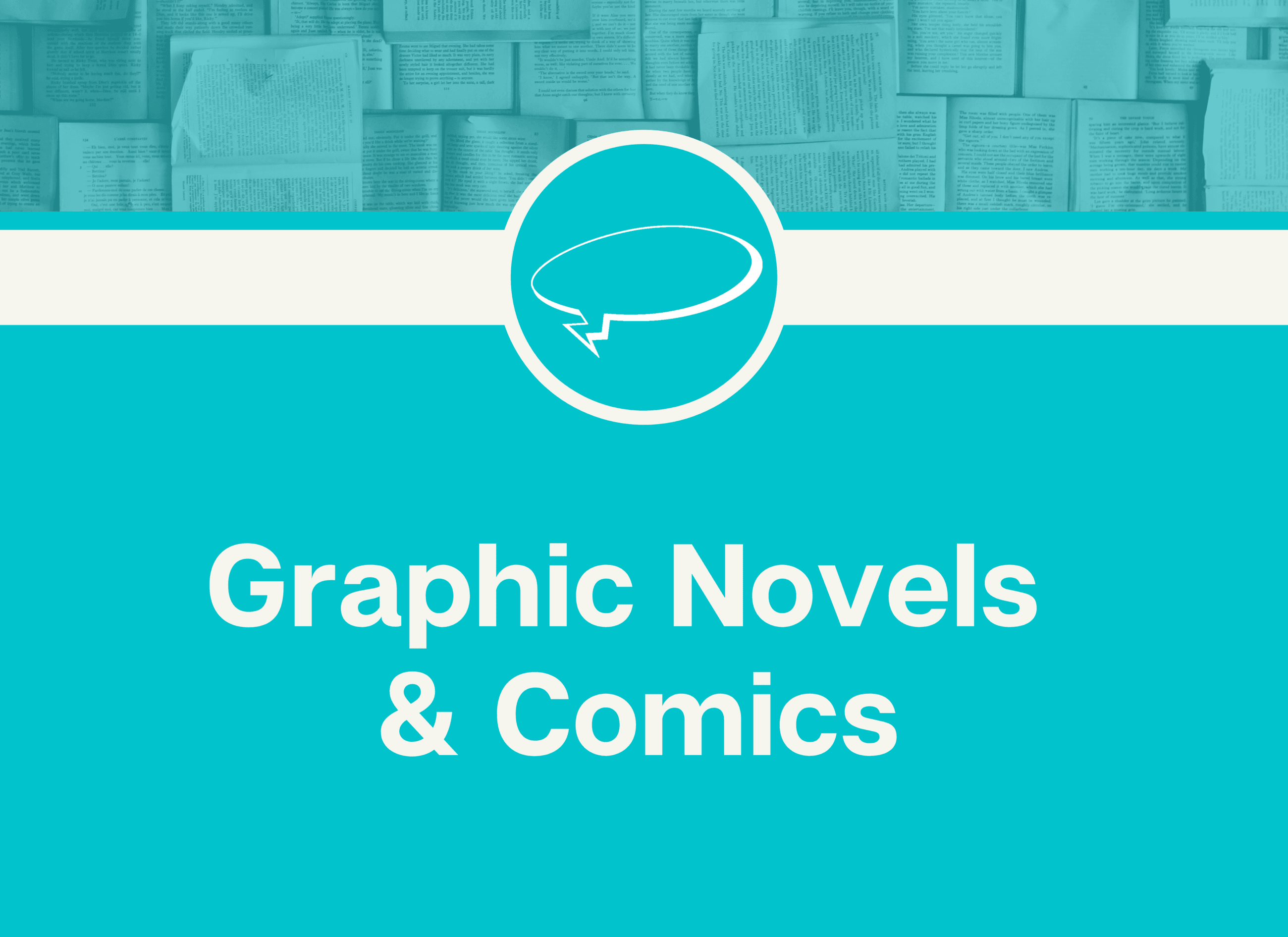 graphic novels and comics Opens in new window
